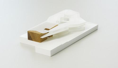 Werbewersmodell,   Maßstab 1:500, Modell Materialien: Polystyrol, Plastik, Holz