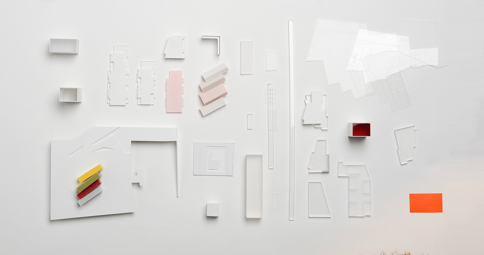 Präsentationsmodell moodboard von Scala Matta Modellbau Studio, Wien