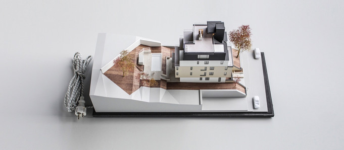 Immobilienmodell von Scala Matta Modellbau, Wien