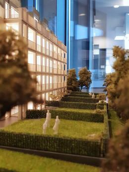 Architekturmodell für Immobilien Wien