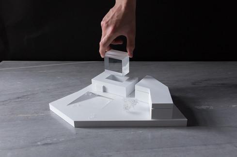 Architekturmodell von Scala Matta Modellbau, Wien