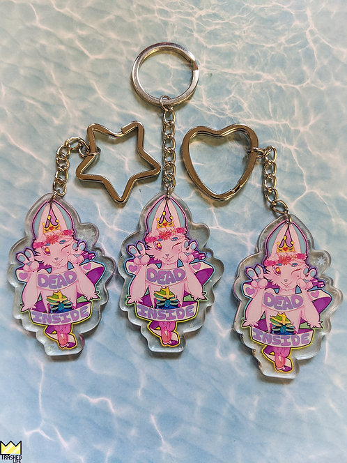 Holographic Dead Inside Charm