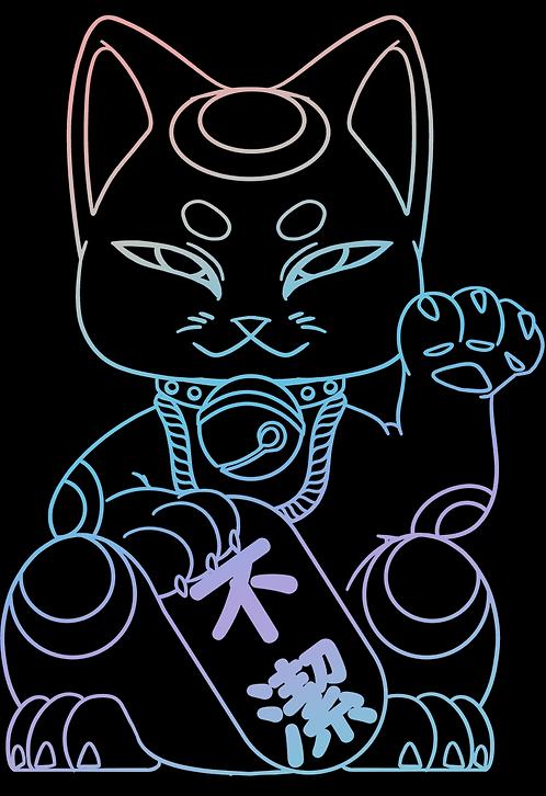 Fuketsu Foil Shirt (ふけつ)