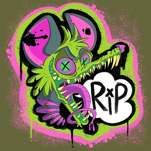Rest In Possum Shirt (Green)