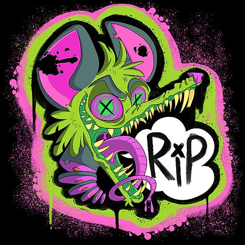 Rest In Possum Shirt (Black)