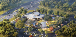 Haute Spot Music and Events Venue Bird's Eye View