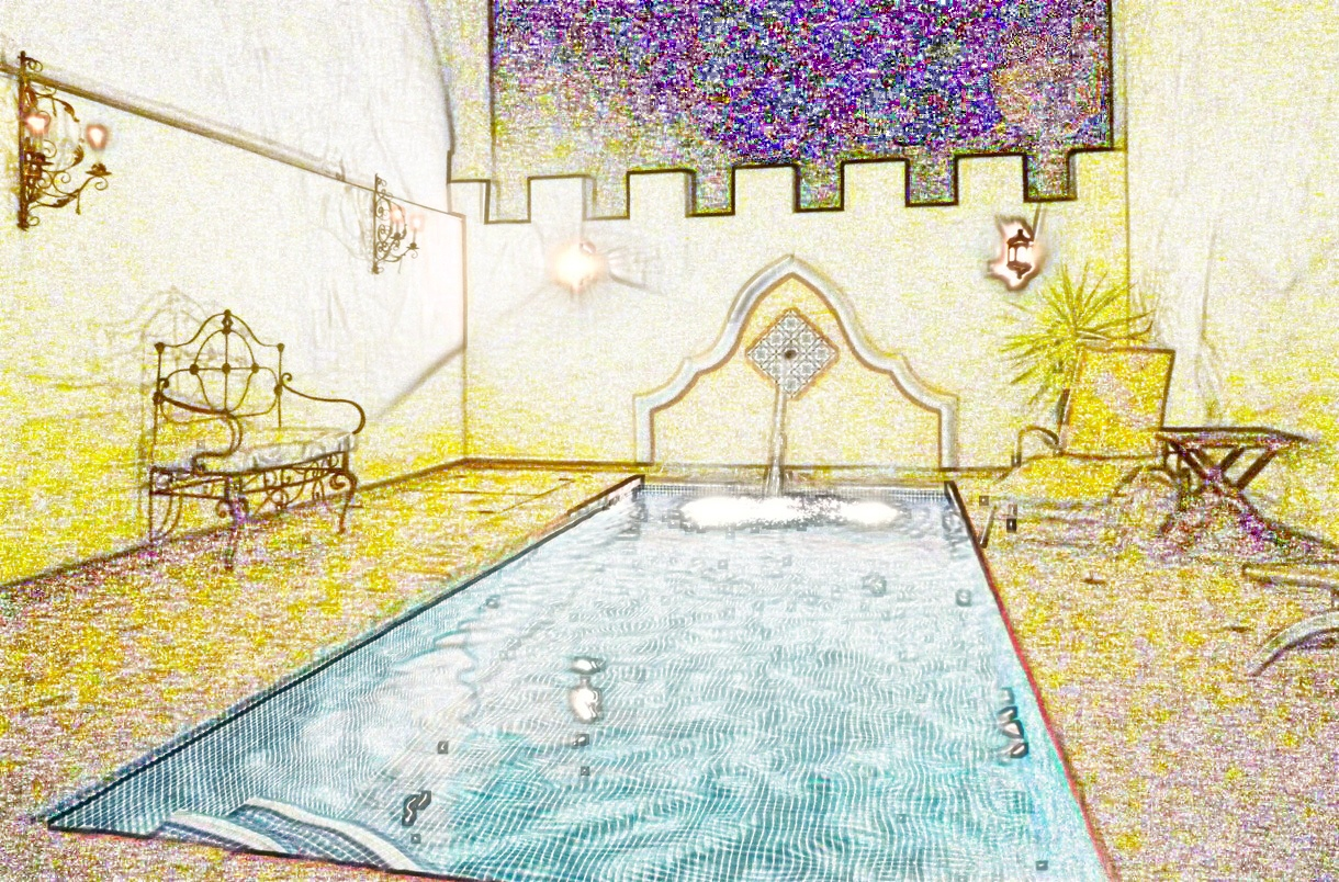 Casa Convento watercolour