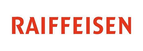 Raiffeisen-Logo, Rot, mit weissem Hinter