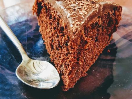 Εύκολο Κέικ σοκολάτας καρύδας