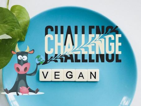 Πάρε την Πρόκληση 22 ημερών Vegan διατροφής για τα ζώα,το περιβάλλον και την υγεία σου.
