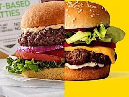 Τα Burger των Vegan που βρίσκετε σε Super Market και σε καταστήματα με βιολογικά προϊόντα.