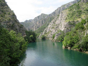 How To Get To Matka Canyon