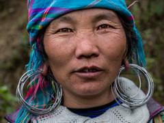 Tapshanov - Sapa, Vietnam - Hmong woman.