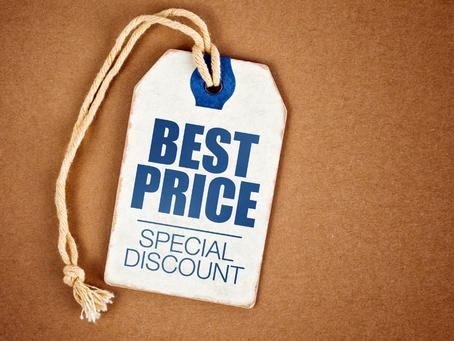 O preço dos seus produtos devem ser informados corretamente!
