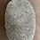 Thumbnail: Hand-knit wool beanie with a vintage button