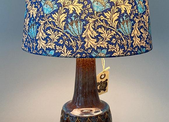 Vintage Danish design ceramic lamp