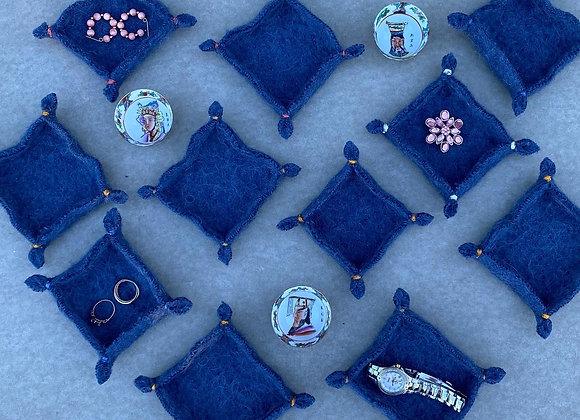 Upcycled jewelry trays