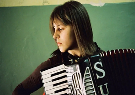 MACEDONIAN DREAM: A girl and her accordion