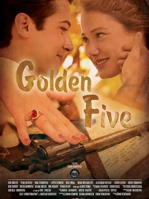 Golden FIve DVD Macedonian title: Златна петорка
