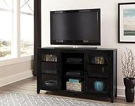 42-760 black tv stand
