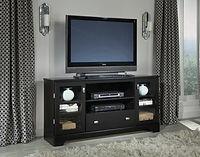 60-275 black entertainment console