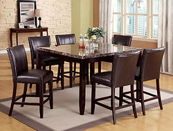 2721 Ferrara table and 6 chairs