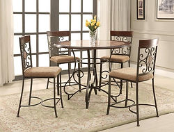 2811 sarah Table and 4 chairs