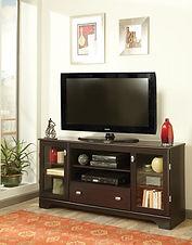 60-230 Mahogany entertainment console