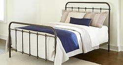 232 Jourdan creek wraught iron style bed
