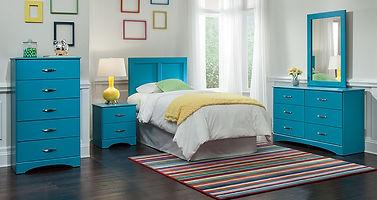 171 splash turqiose bedroom suite