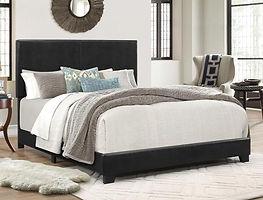 5271 Black vinyl bed