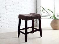 "2787 Kent saddle chair espresso 24"""