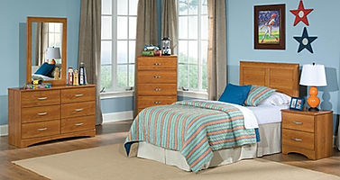 110 tanner light oak bedroom suite