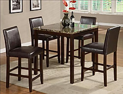 2724 Anise table and 4 chairs