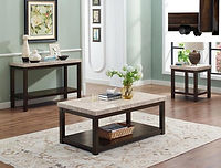 4274 kelia marble coffee and end table set