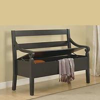 4183 kennedy Storage Bench black