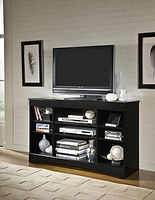 48-275 black entertianment console