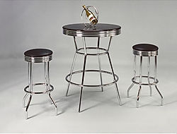 2905 retro bar set with 2 stools