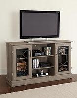61-232 Grain oak entertainment console
