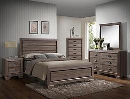5500 Farrow wood bedroom suite
