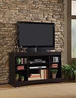 48-230 Mahogany entertainment console