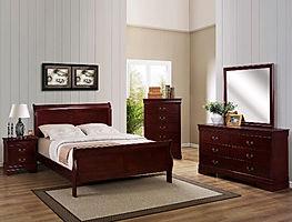 3800 Louis Philip bedroom suite