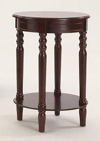 7901 laurel espresso chairside table
