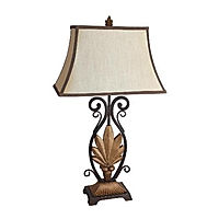 6207 gold table lamp