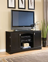 54-275 Black entertainment console