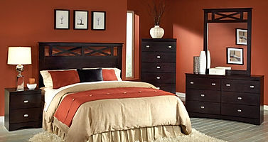 230 Tyler brown bedroom suite