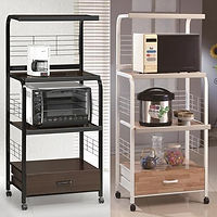 1304 Kitchen microwave stand