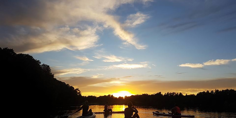 SUP & SIP Evening Paddle!