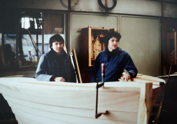 Uwe Glasl, rechts im Bild