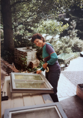 Barbara Glasl Platzgummer, August 1984